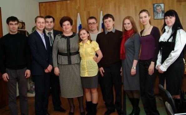 Встреча молодых медиков Дона с министром здравоохранения Ростовской области, апрель 2011